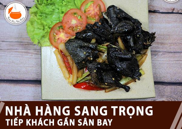 nha hang gan san bay